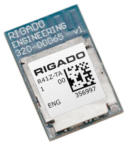 Наряду с модулями, доступны ознакомительные наборы Rigado R41Z Evaluation Kit