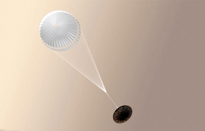 Mars Reconnaissance Orbiter помог найти место падения зонда «Скиапарелли» - 1