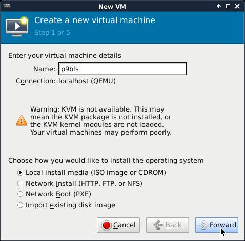 QEMU-KVM и установка Windows - 2