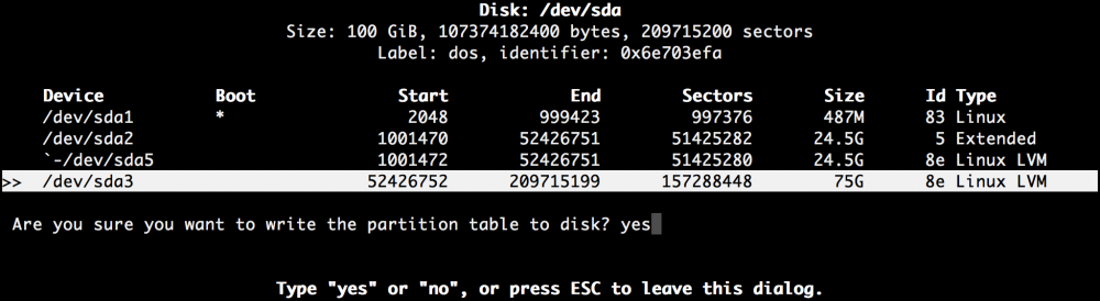 Добавляем места на диске для Linux–сервера в облаке Azure Pack Infrastructure, а заодно и разбираемся с LVM - 15