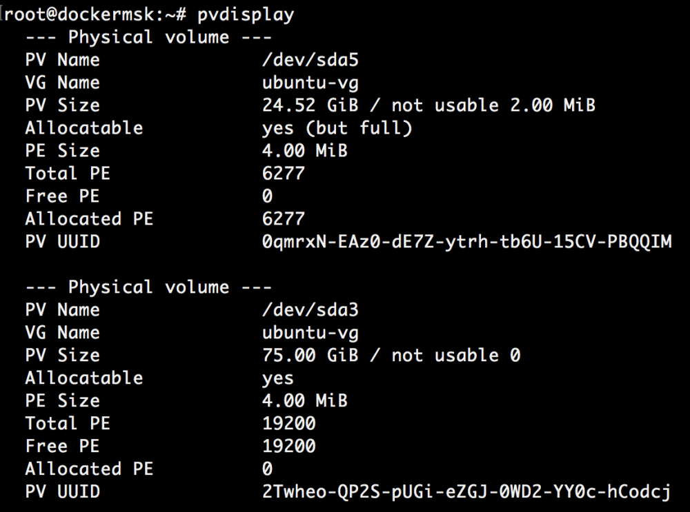 Добавляем места на диске для Linux–сервера в облаке Azure Pack Infrastructure, а заодно и разбираемся с LVM - 20