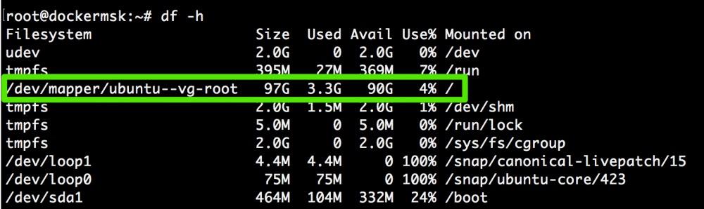 Добавляем места на диске для Linux–сервера в облаке Azure Pack Infrastructure, а заодно и разбираемся с LVM - 26