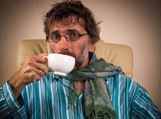 Мужчинам лучше не пить много чая