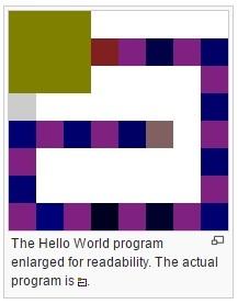 Примеры кода на 39 эзотерических языках программирования - 21