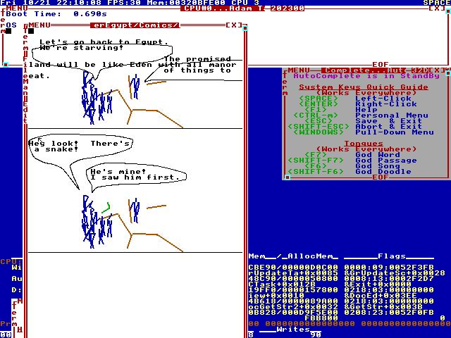 TempleOS: библейская операционная система, которую пишет шизофреник - 6