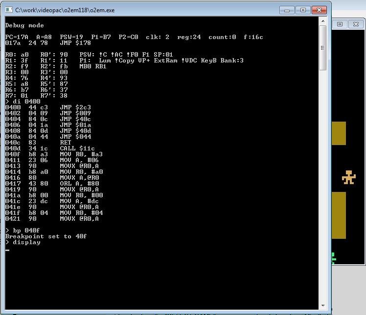 Архитектура и программирование Philips Videopac (Magnavox Odyssey 2) - 5