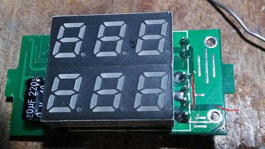Доработка китайского вольтамперметра WR-005 - 4