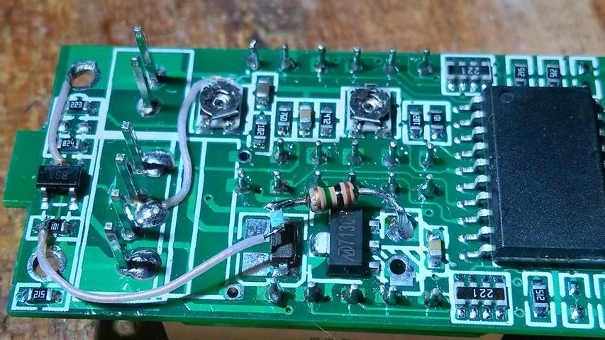 Доработка китайского вольтамперметра WR-005 - 7