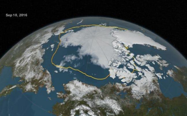 Эксперты предсказывали исчезновение арктического льда к сентябрю 2016 — и ошиблись - 3