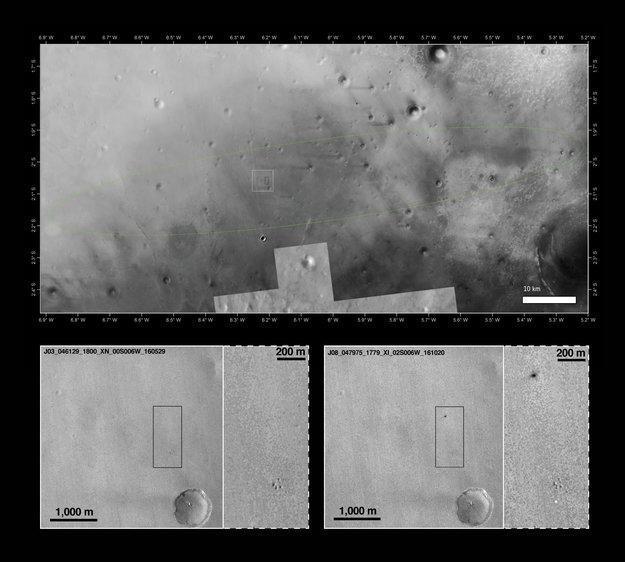 Миссия «ЭкзоМарс-2016» завершилась успешно лишь наполовину