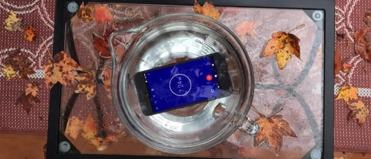 Смартфон Google Pixel может выдержать погружение в воду