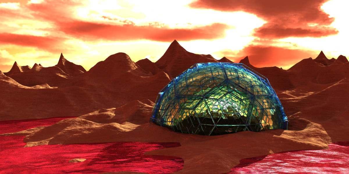 Илон Маск рассказал, как колонисты будут жить на Марсе - 1