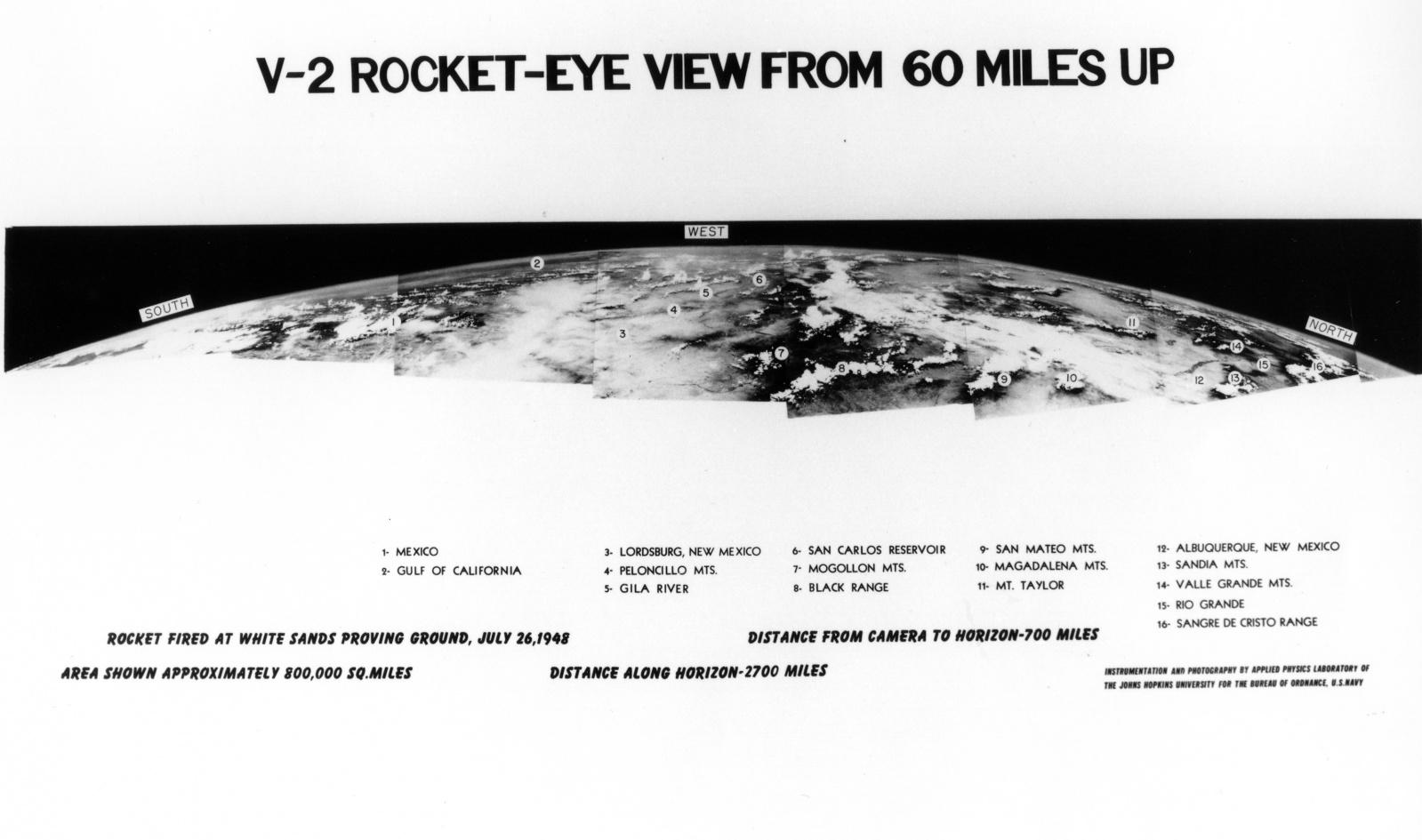 70 лет первой фотографии Земли из космоса - 2