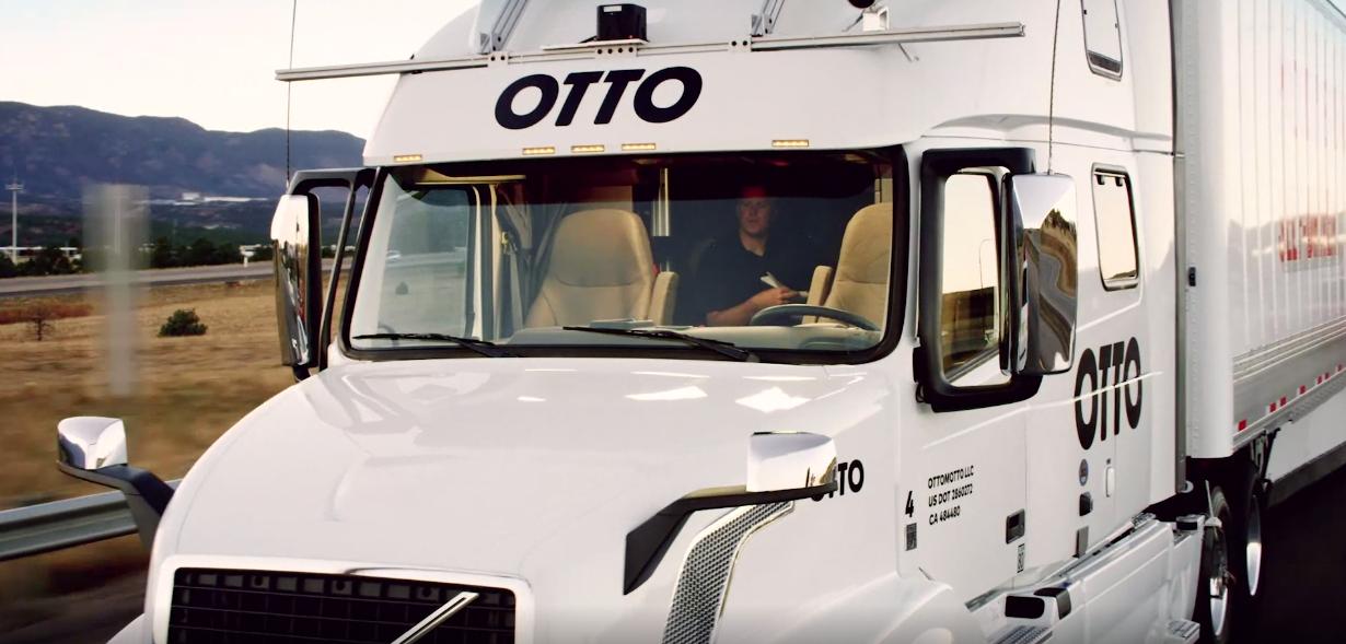 Автономная фура Otto от Uber совершила свой первый беспилотный рейс - 1