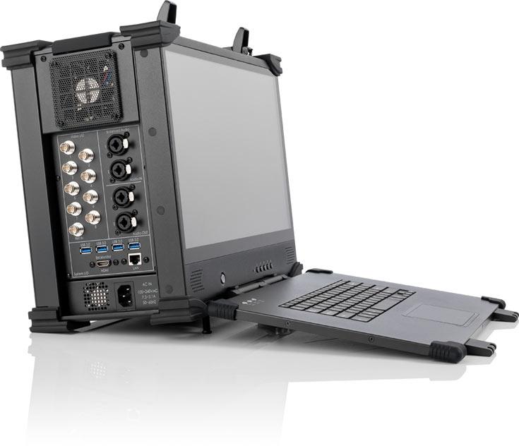 Оснащение LiveStudio включает восемь видеовходов HD-SDI