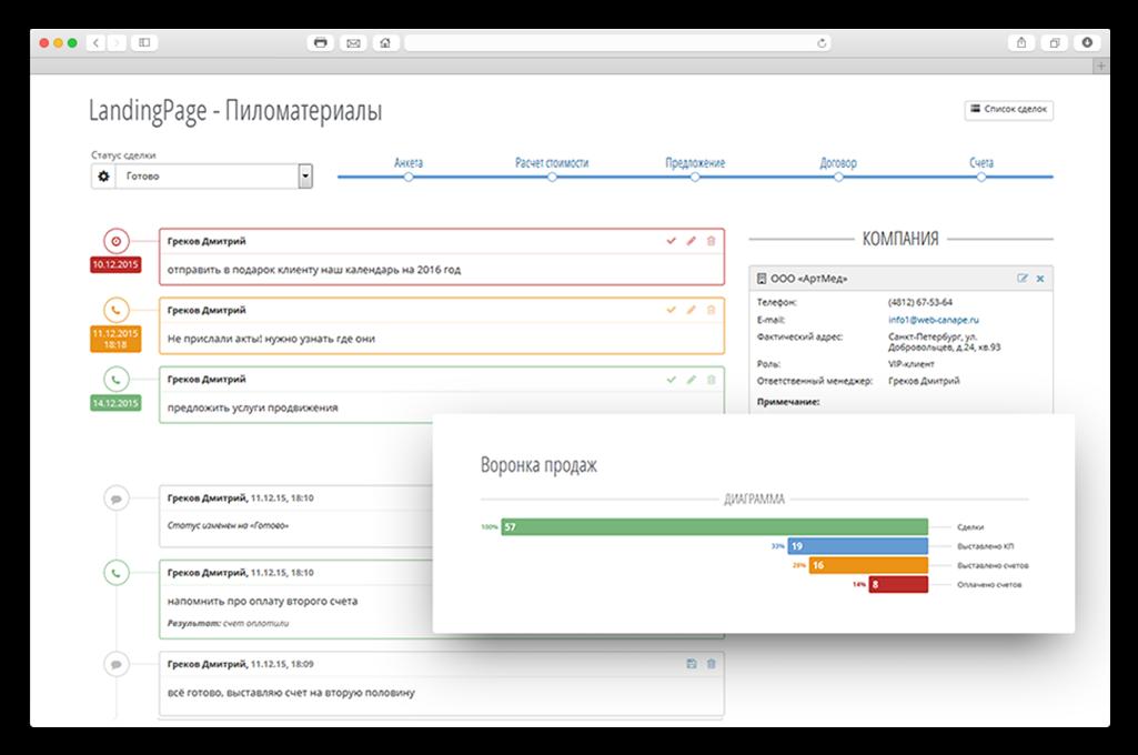 Настраиваем бизнес-процессы веб-студии в CRM - 6
