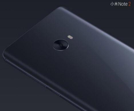 Представлен смартфон Xiaomi Mi Note 2, оснащенный изогнутым дисплеем, камерой разрешением 22,56 Мп и 6 ГБ ОЗУ