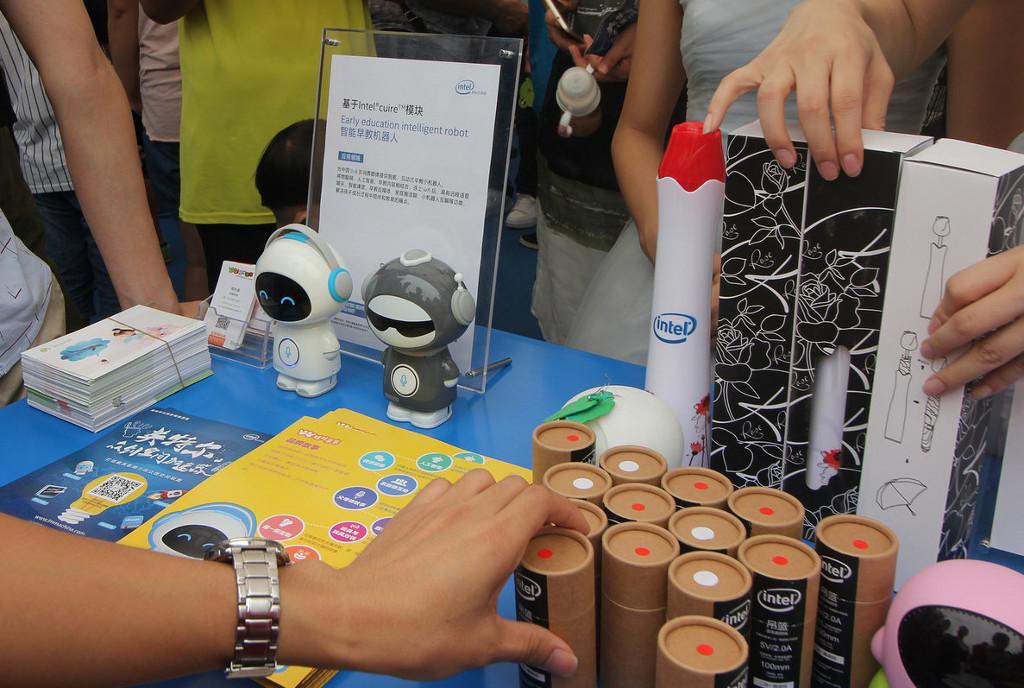 Фотоэкскурсия по выставке MakerFaire 2016 в Шэньчжене, часть 1 - 18