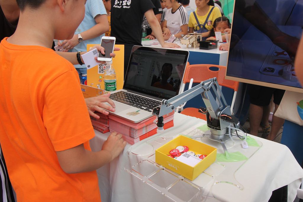 Фотоэкскурсия по выставке MakerFaire 2016 в Шэньчжене, часть 1 - 20
