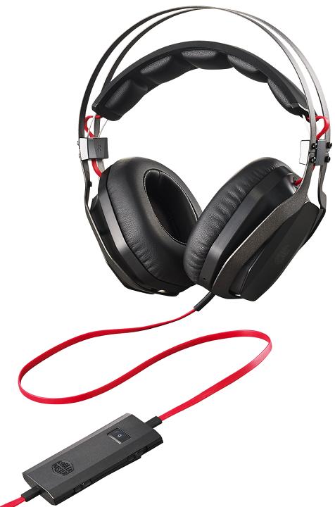 Гарнитура Cooler Master MasterPulse Pro получила сменные насадки для изменения звучания