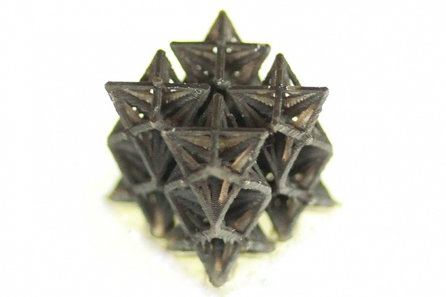 Распечатанные на 3D-принтере структуры сжимаются при нагреве - 1