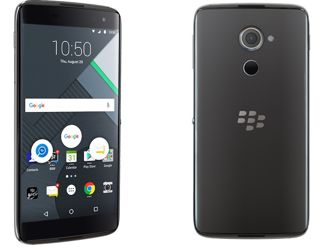 BlackBerry представила смартфон DTEK60