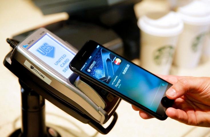 Сервис Apple Pay растёт внушительными темпами