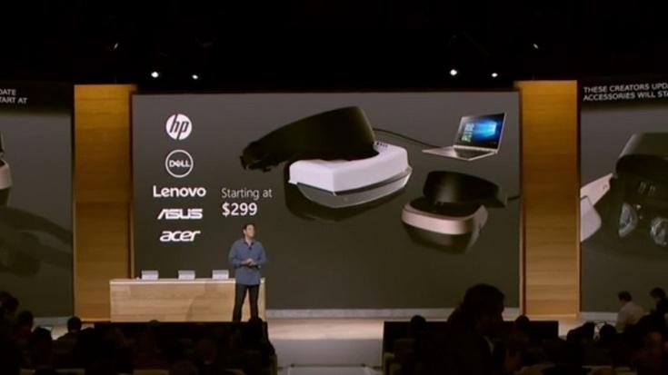 Microsoft хочет наводнить рынок гарнитурами VR