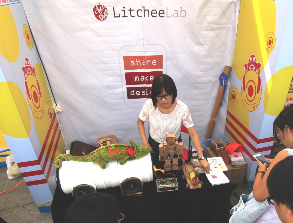 Фотоэкскурсия по выставке MakerFaire 2016 в Шэньчжэне, часть 2 - 29