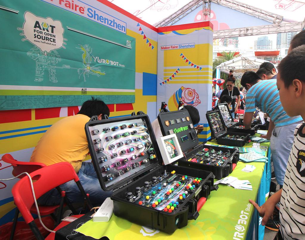 Фотоэкскурсия по выставке MakerFaire 2016 в Шэньчжэне, часть 2 - 9