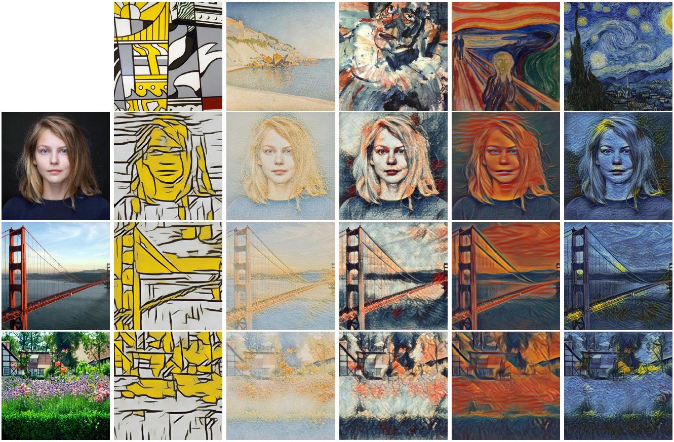 Нейросеть Google произвольно стилизует изображения в реальном времени - 1