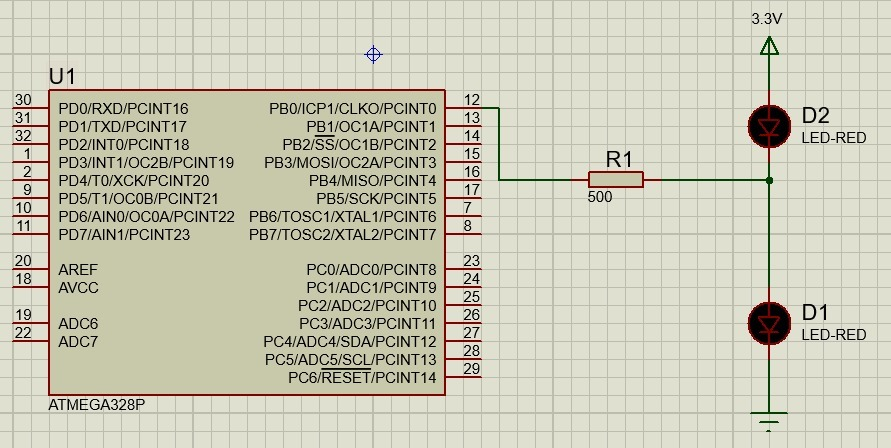 Предел минимального Hello Word на AVR составляет 0 бит - 3