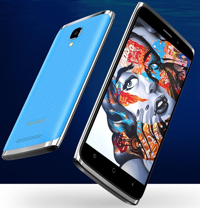 Смартфон Bluboo Mini работает с ОС Android 6.0