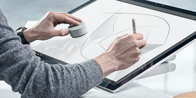 Новый контроллер Surface Dial частично совместим с любым ПК и планшетом на базе Windows 10