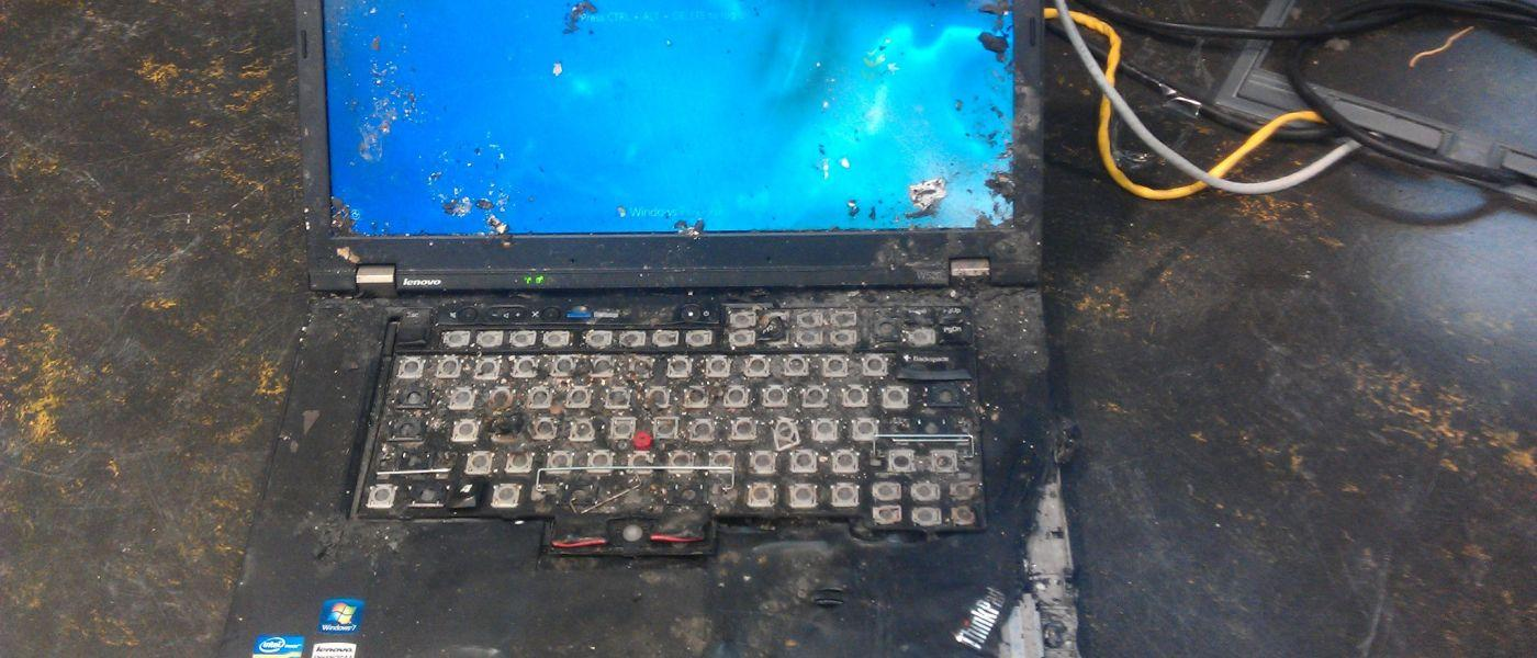 Шесть реальных историй о выживании ThinkPad - 1