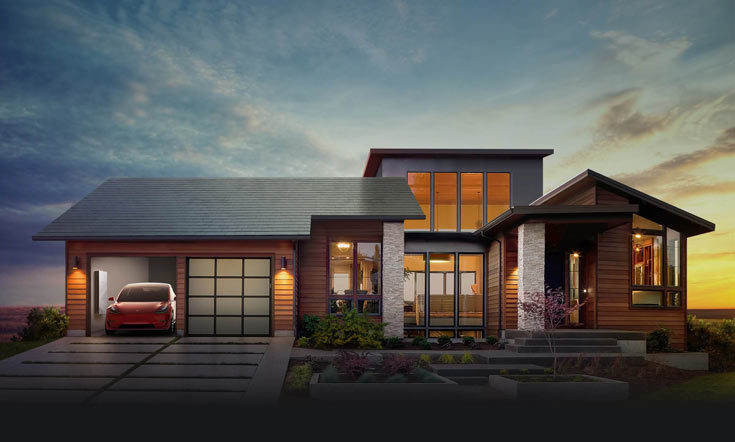 Маск пообещал, что установка «солнечных крыш» начнется летом будущего года