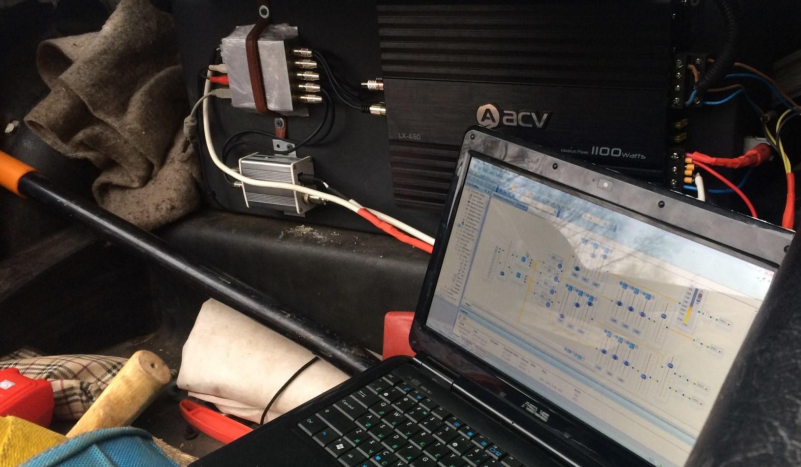 Как сделать процессорный звук в Жигулях - 1