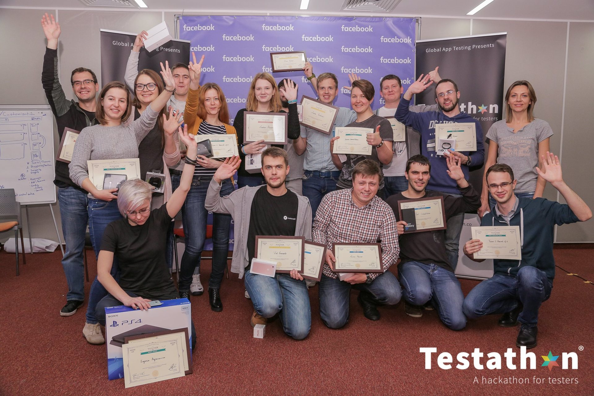 Как я сходил на первый в России «Testathon», хакатон для тестировщиков - 5