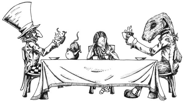 Безудержное чаепитие