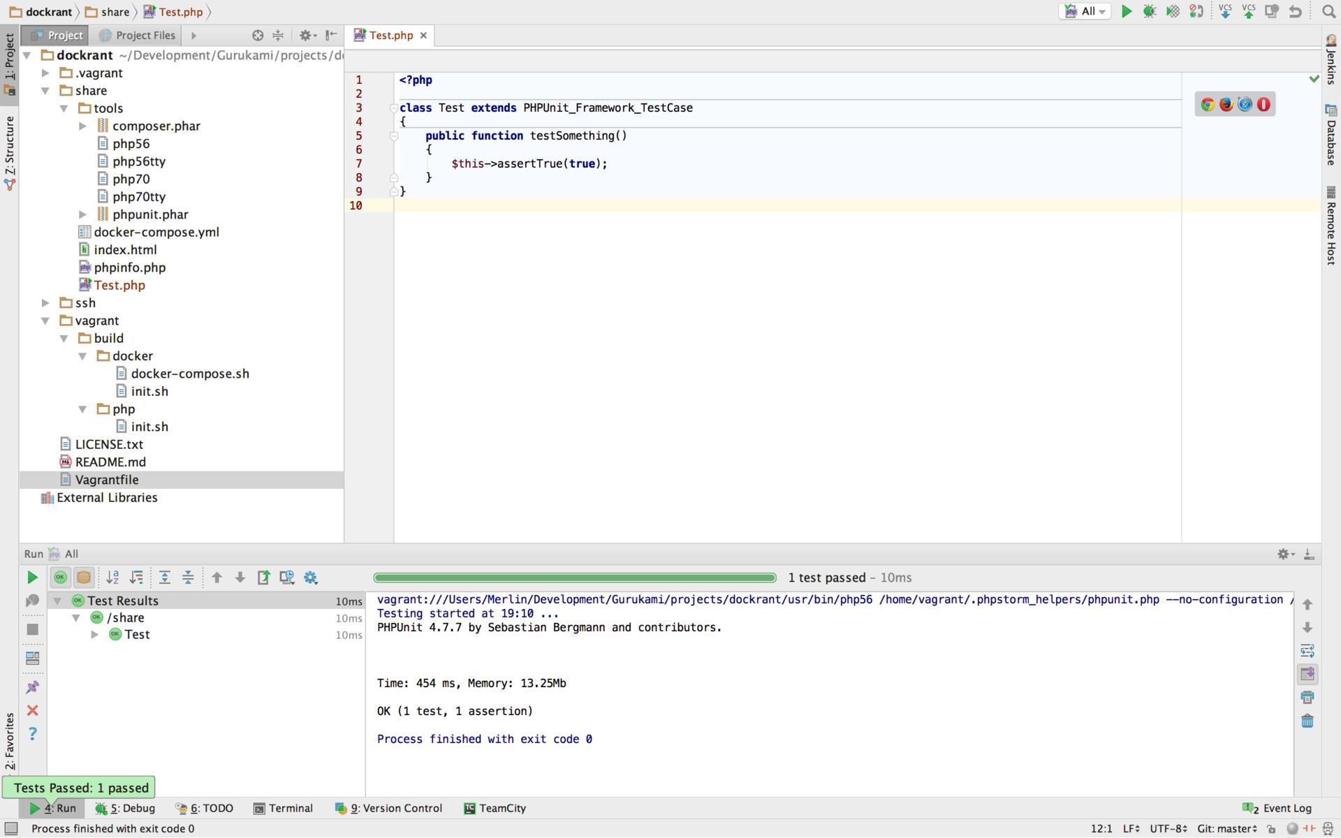 Настройка окружения для PHP разработчиков - 20