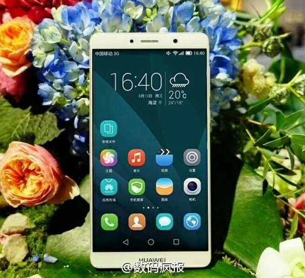 Появились реальные фотографии смартфона Huawei Mate 9