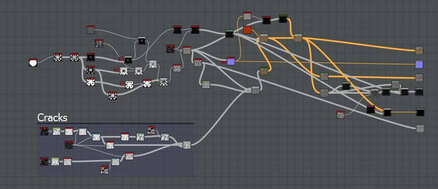 Создание материалов для Unity в Substance Designer - 1