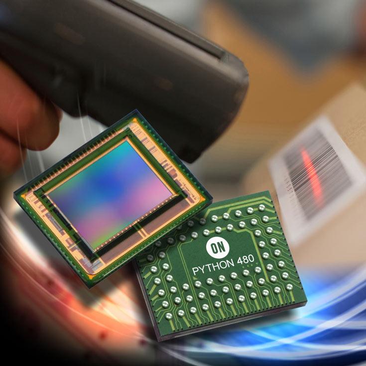 Разрешение датчика изображения ON Semiconductor Python 480 — 808 х 608 пикселей