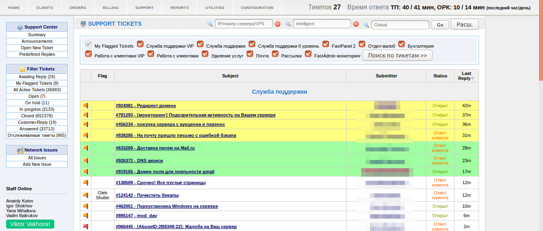Человек-саппорт, или как работает служба техподдержки хостинг-провайдера FASTVPS - 7