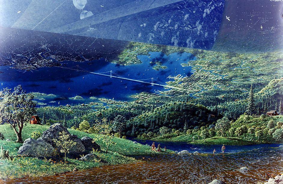 Джефф Безос: люди должны колонизировать не только планеты, но и открытый космос - 1