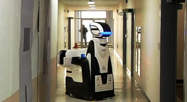 Китайский робот-охранник с электрошокером AnBot заступил в патруль - 4