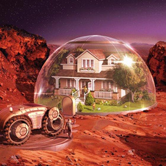 Космические жилища, ч. 3: как мы будем жить на Марсе - 1
