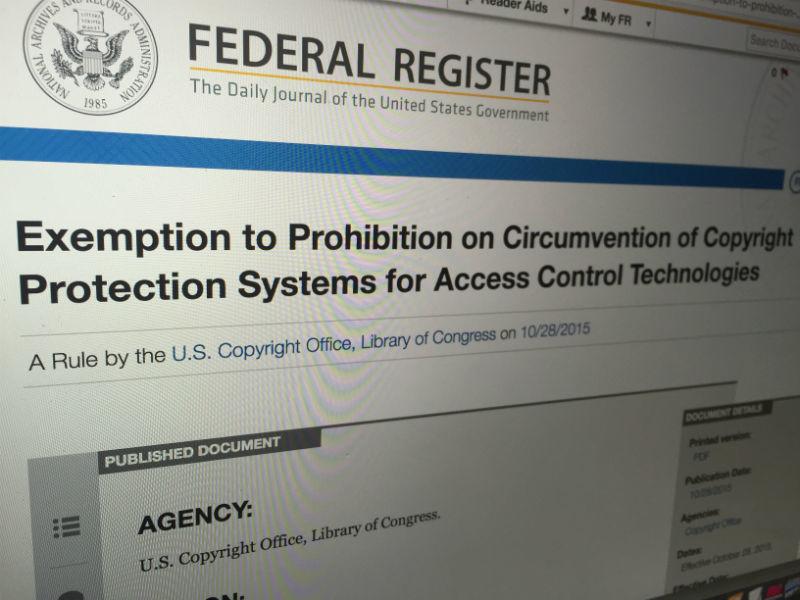 Власти США разрешили исследователям заниматься пентестами и реверс-инжинирингом без юридических последствий - 1