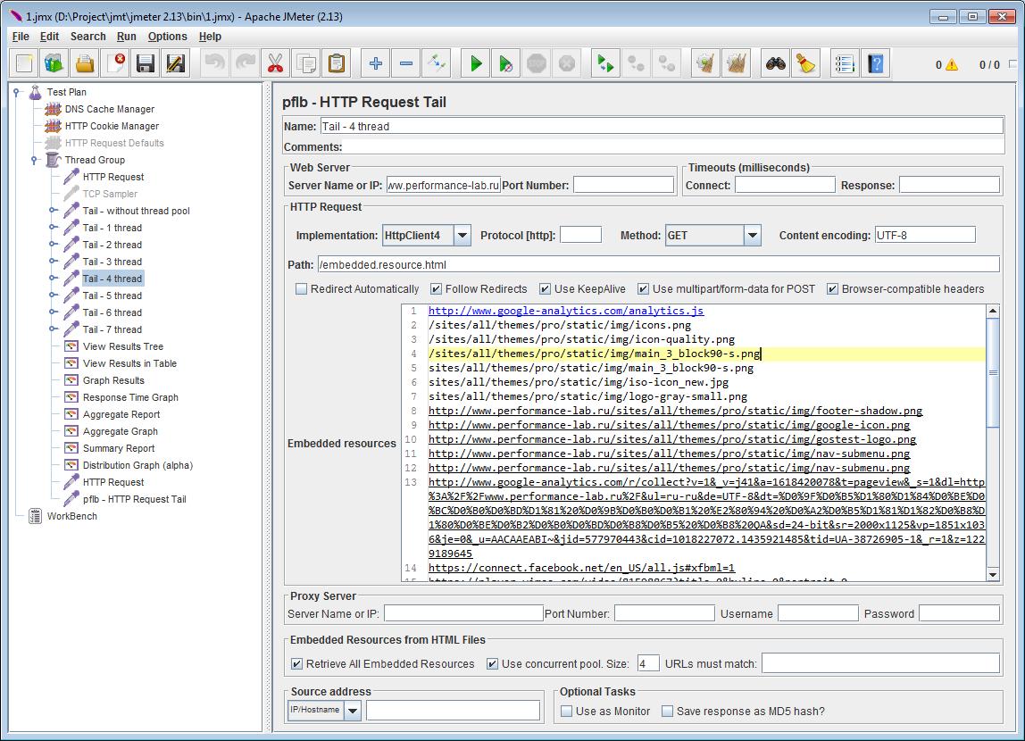 TailSampler — паралельная отправка GET-запросов в Apache.JMeter - 12