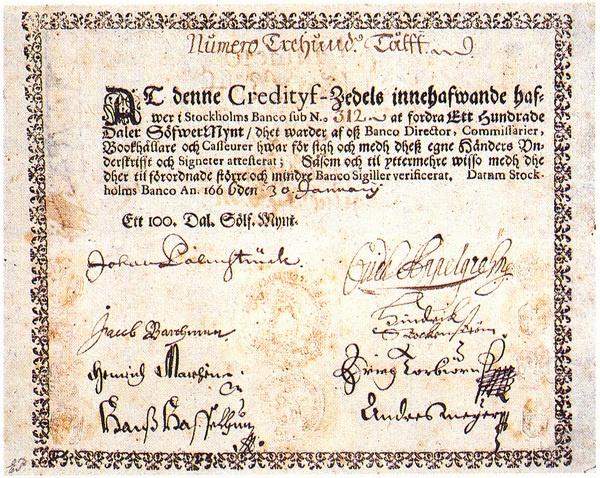 Бумажные деньги — когда и почему они появились - 7
